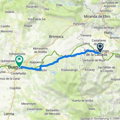 Tag 51 von Santo Domingo de la Calzada nach Burgos