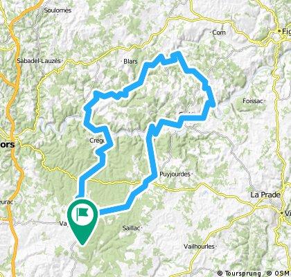 Vallée du LOT et du CELE Dimanche 15 05 2011