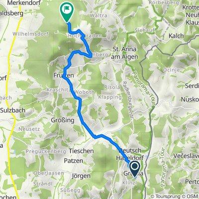 Route von Gruisla 71, Klöch
