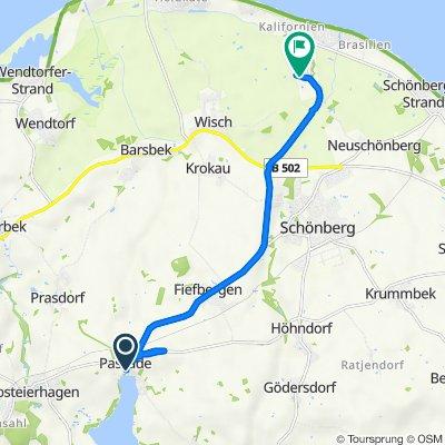 Dörpstraat 11, Passade nach Osterwisch 28, Schönberg in Holstein