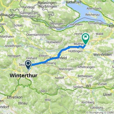 Binzhofstrasse 31, Winterthur nach Schulweg 7, Wigoltingen