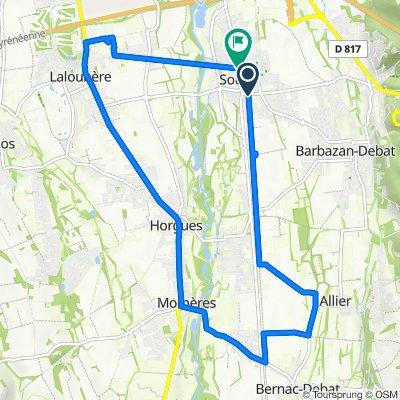 3 Rue du Maquis, Soues to 2–14 Impasse Jean-Louis Fourcade, Soues