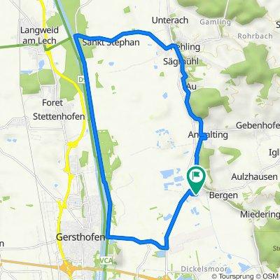 Fliederweg 2, Affing nach Fliederweg 2, Affing