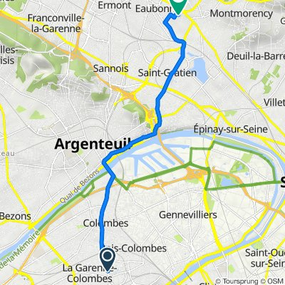 De 107 Avenue du Général de Gaulle, La Garenne-Colombes à 22 Avenue des Myosotis, Soisy-sous-Montmorency