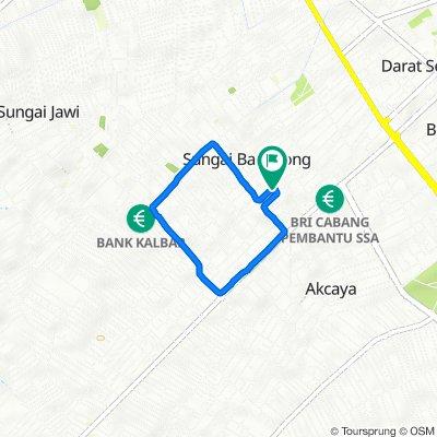Gang Sentosa Dalam No.3, Kecamatan Pontianak Kota to Gang Sentosa Dalam No.3, Kecamatan Pontianak Kota