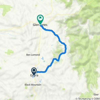 Guyra to Glen Innes via Pinket Rd