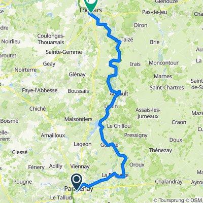 2021 - Day 3 - Pathernay - Thouars