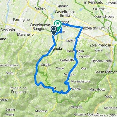 Samone - Montalbano -Zocca - Tole'