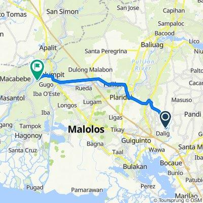 RWW9+4QH, Balagtas to Provincial Road, Calumpit