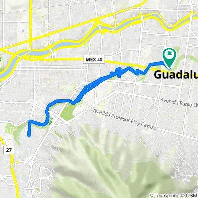 De Muelle y, Guadalupe a Ribera 3303, Guadalupe