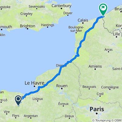 Itinéraire vers Zeelaan 18, La Panne