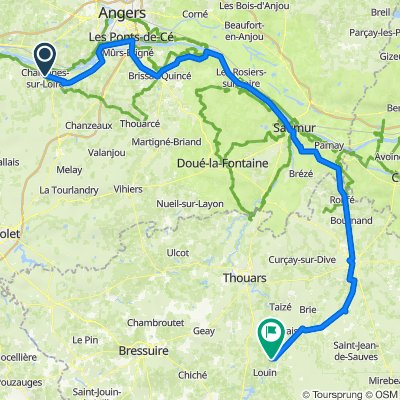 Chalones sur Loire to Airvault