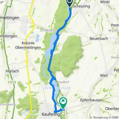 Scheuring nach Brückenring 1, Kaufering