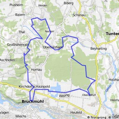 Bruckmühl-Hirschberg-Bruckmühl