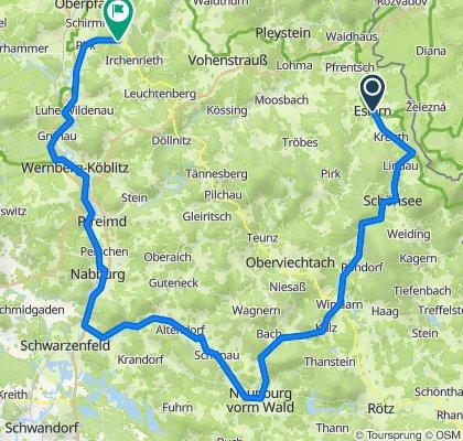 Schönsee-Neuburg-Schwarzenfeld-Weiden