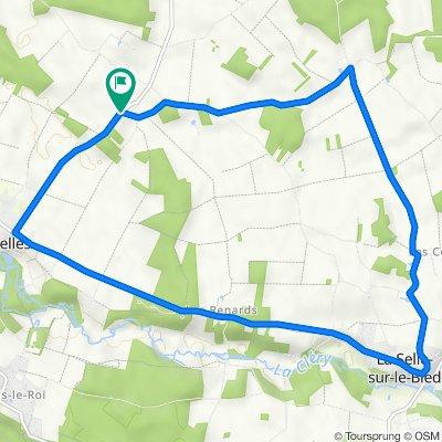 De 1 Route des Fours, Griselles a 41 Route des Fours, Griselles