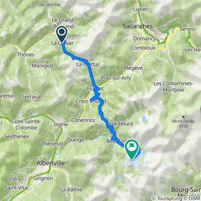 Day 3: La Clusaz, France to Lac de Roselend, France