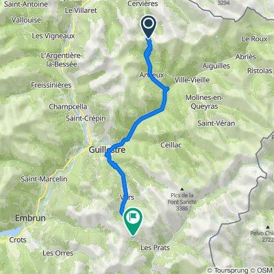 Day 8: Col d'Izoard, France to Col de Vars, France