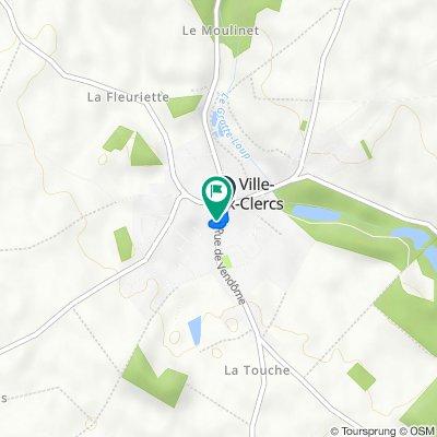 De Rue de Vendôme 2, La ville-aux-Clercs à Rue de Vendôme 6, La ville-aux-Clercs
