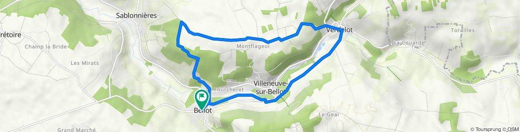 Vallée du Petit Morin - Bellot et le Prieuré de Verdelot
