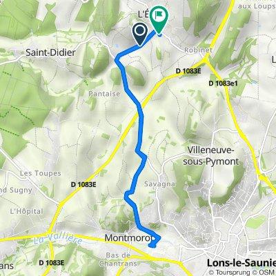 De Route de Saint Didier 200-300, L'Étoile à Chemin de Vaux 31, L'Étoile