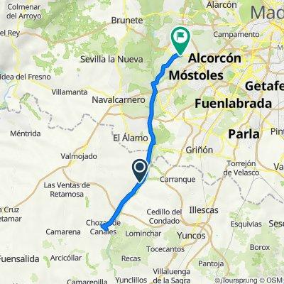 Ruta a Avenida del Príncipe de Asturias, 8, Villaviciosa de Odón