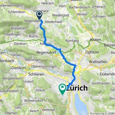 Wehntalerstrasse 20, Dielsdorf nach Staffelhof 15, Zürich