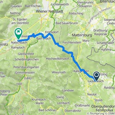 Lackenbach-Forchtenstein-Lanzenkirchen-Pottschach