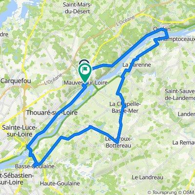 De 5 Allee des Loriots, Mauves-sur-Loire à 1bis Rue de la Mairie, Mauves-sur-Loire