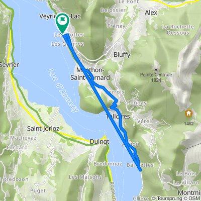 18 Chemin des Barattes, Veyrier-du-Lac do 10 Chemin des Barattes, Veyrier-du-Lac