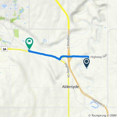 402000–402098 96 St E, Aldersyde to 386000–386034 48 St E, Foothills No. 31