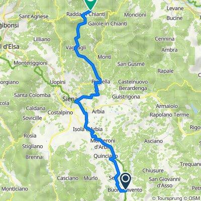 Tag 4_Toskana_Buenconvento_Radda in Chianti