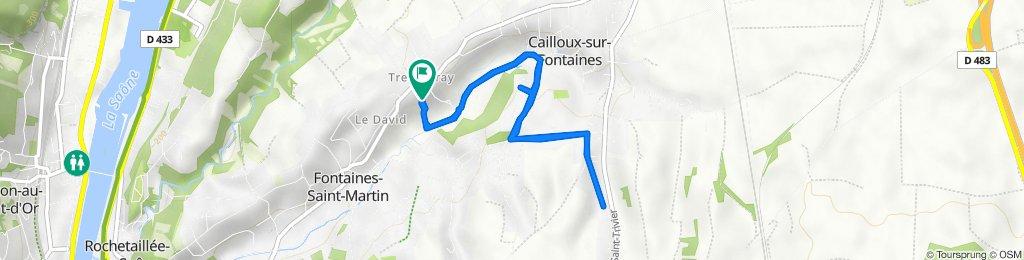 De 174 Chemin du Puits Pointu, Cailloux-sur-Fontaines à 174 Chemin du Puits Pointu, Cailloux-sur-Fontaines