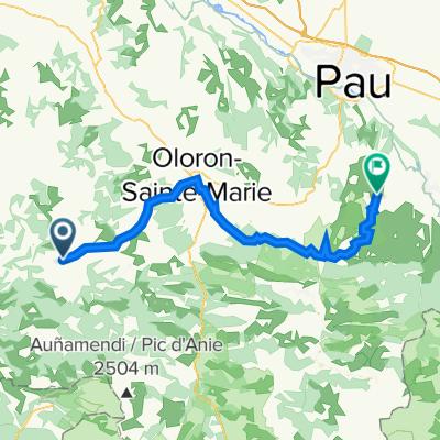 De D918, Montory à 1 Place de la Chapelotte, Haut-de-Bosdarros