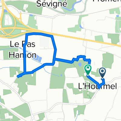 De D286 1, Noyal-sur-Vilaine à Le Puits Auray, Noyal-sur-Vilaine