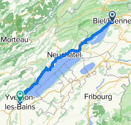 Tag 2 (Biel - Yverdon-les-bains)