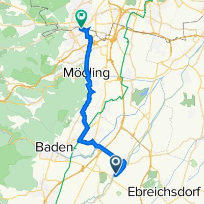 Trumauer Straße 17, Oberwaltersdorf nach Grillparzerstraße 29, Perchtoldsdorf