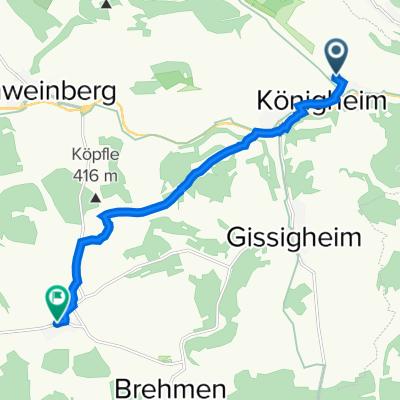 MTB Tour Hof HoffeldPülfringen