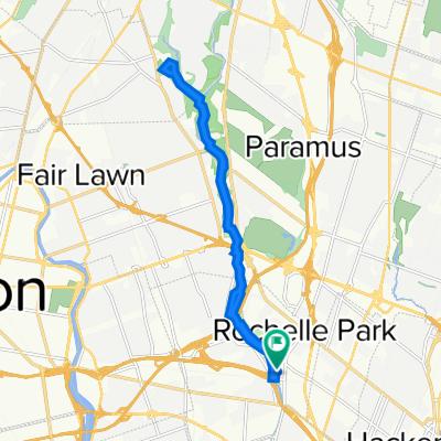 Path Rd, Rochelle Park do Path Rd, Rochelle Park