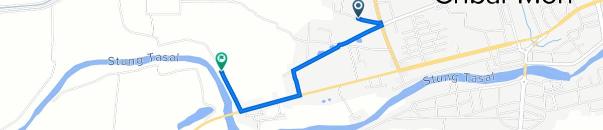FG84+2W2, Krong Chbar Mon to Unnamed Road, Krong Chbar Mon