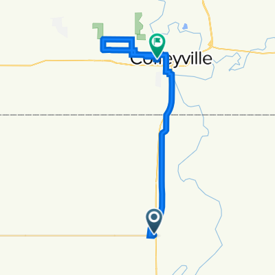 402509–402571 EW 07 Rd, S Coffeyville to 809 Lincoln St, Coffeyville