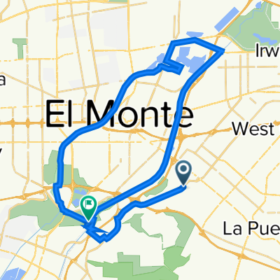Workman Mill Rd and Don Julian Rd N, Avocado Heights to San Gabriel River Trail, South El Monte