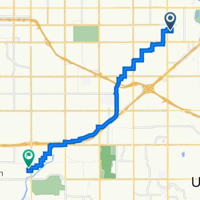 8120 E 16th St, Tulsa to 2217 E 59th St, Tulsa