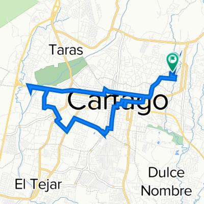 De Avenida 15, Cartago a Calle 33 13, Cartago
