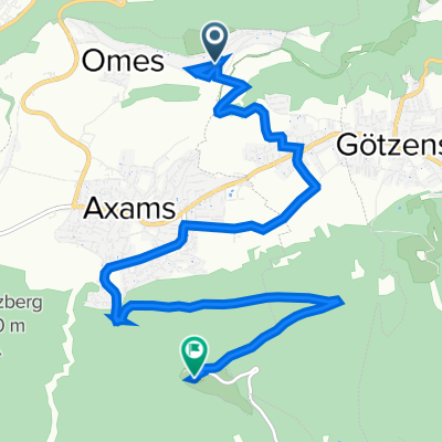 Omesmahder 13a, Omes to Adelshof 2, Birgitz