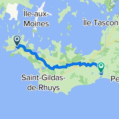 De Rue er Blei Mor, Arzon à 35 Route du Duc Jean V, Sarzeau