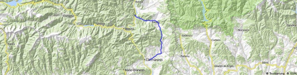 Jiblea - Dangesti - Perisani - Cornetu