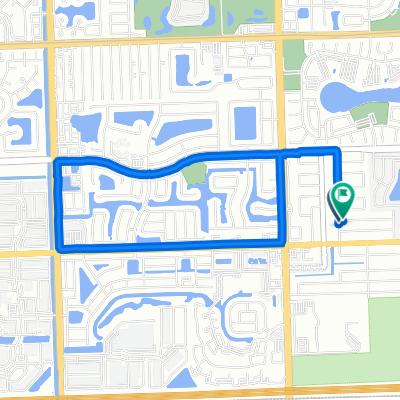 3008 Canal Rd, Miramar to 8660 Beekman Dr, Miramar