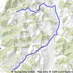Rm Valcea - Runcu - Cepari - Aldesti
