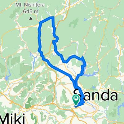 17-6, Fujigaoka 2-Chōme, Sanda to 17, Fujigaoka 2-Chōme, Sanda